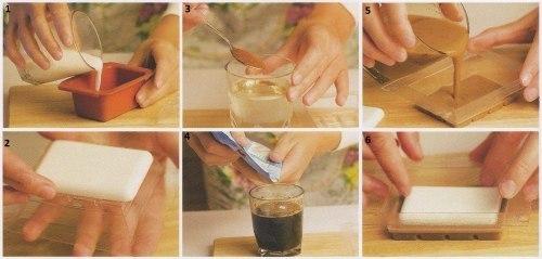 Изготавливаем мыло своими руками