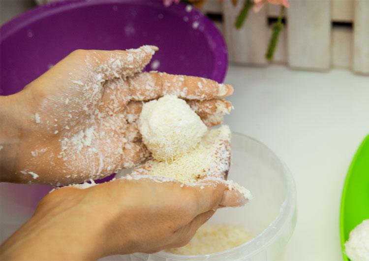 Сахарный скраб пятый этап изготовления