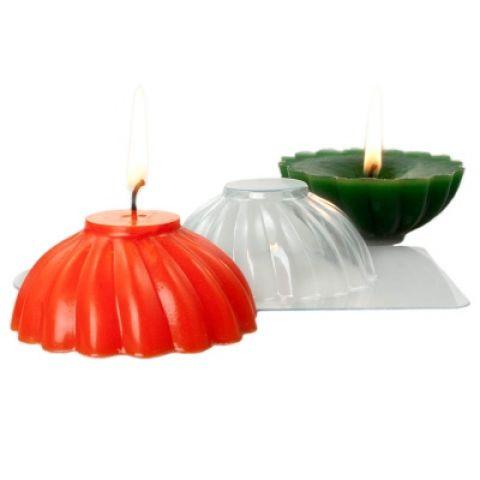 "Форма для свечи ""Свеча спираль"""