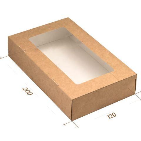 Эко-коробка арт 003 (200х120х40 мм)
