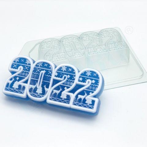 Форма пластиковая 2022 / Скандинавский орнамент