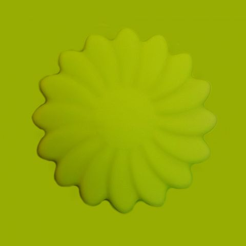 Силиконовая форма 2D цветок