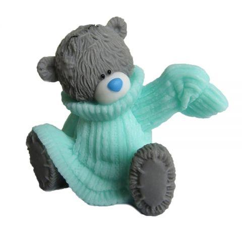 Силиконовая форма 3D мишка в свитере (арт 225)