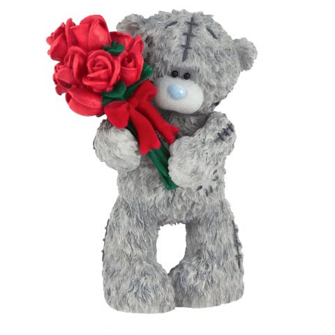Красивые картинки с мишкой тедди и розами