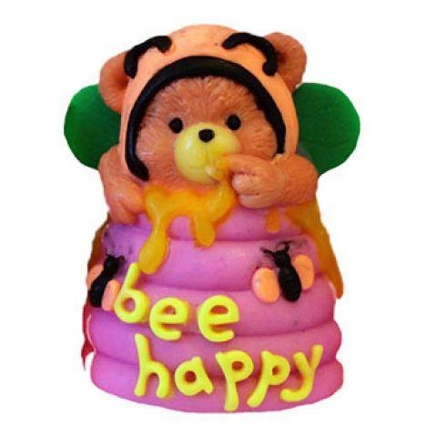 Силиконовая форма 3D Bee Happy