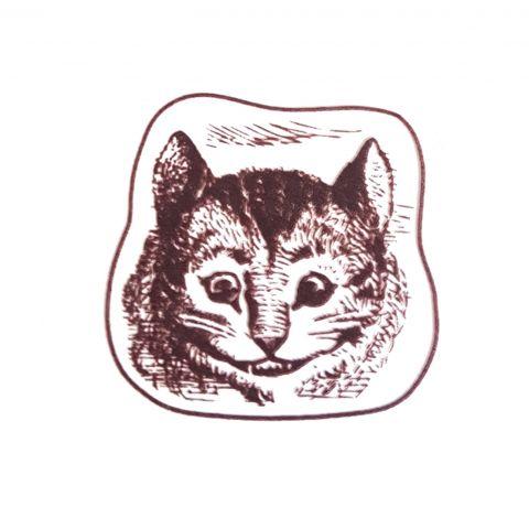 Штамп силиконовый чеширский кот
