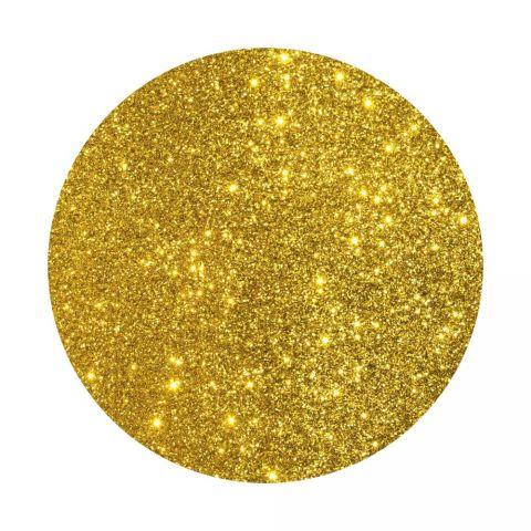 Глиттер косметический золотой