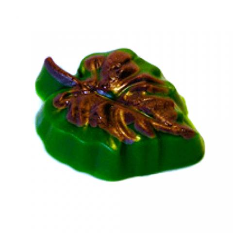 Форма пластиковая листок осенний (маленький)