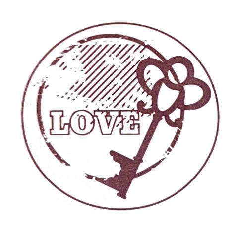 Штамп силиконовый love 2