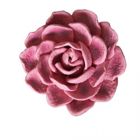 Силиконовая форма 3D махровая роза (арт 332)
