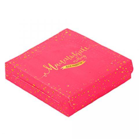 Коробка Маленький повод для радости 14 × 14 × 3,5 см