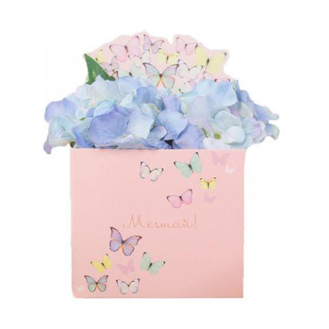 Коробка для мини букетов «Мечтай», 12 × 20 × 10 см