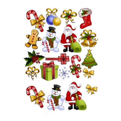 Водорастворимая картинка merry christmas 4