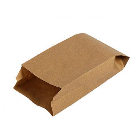 Фасовочный крафт пакет бумажный фасовочный крафт V-образное дно 21 х 10 х 5 см