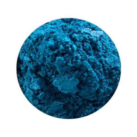 Перламутр сухой голубой