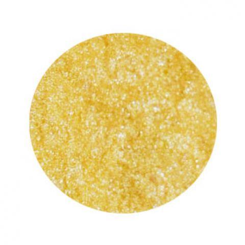 Перламутр сухой желтый блеск