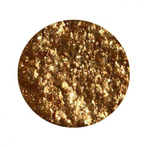 Перламутр сухой сусальное золото