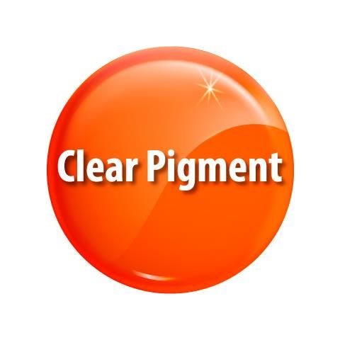 Жидкий прозрачный пигмент Clear Color Orangered ярко оранжевый)
