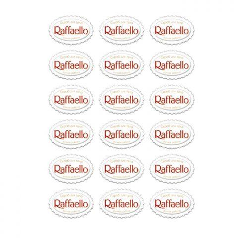 """Наклейка Скраб для тела """"Raffaello"""""""
