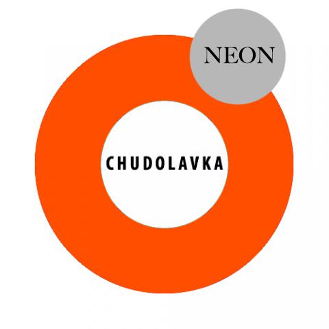 Жидкий пигмент оранжевый неон (россия) 10 мл