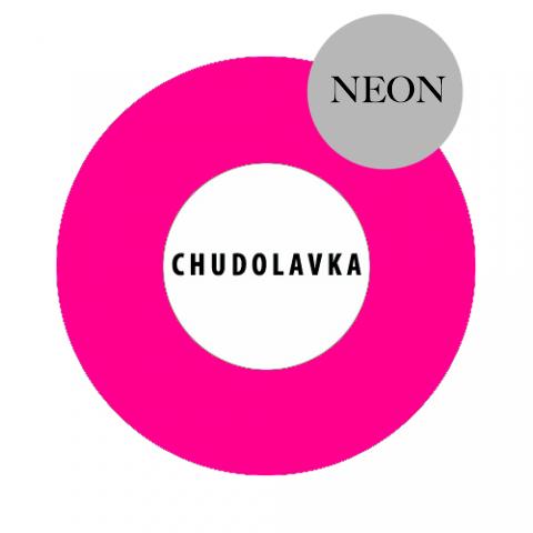 Жидкий пигмент розовый неон (россия) 30 мл