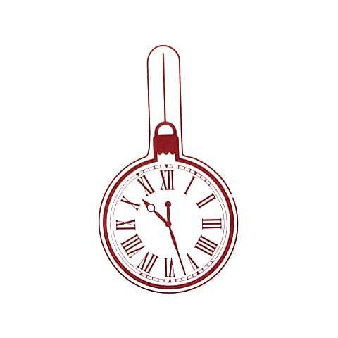 """Штамп силиконовый """"Елочный шар часы"""""""