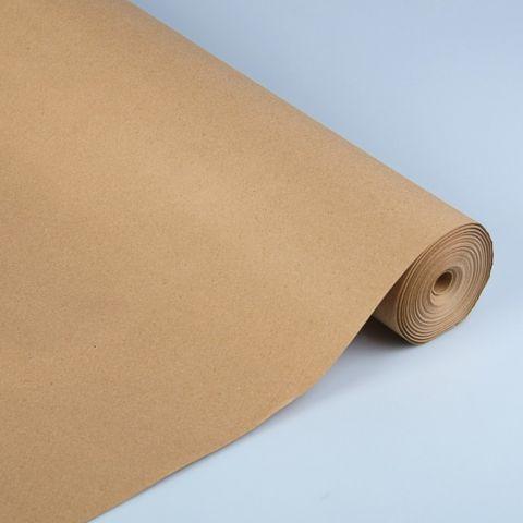 Бумага упаковочная крафт без печати, 70 г/м² ,0,72 х 1 м