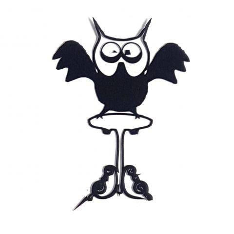 Штамп силиконовый сова 4