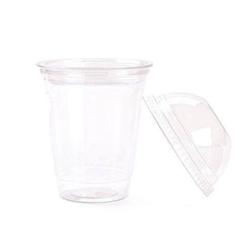 Пластиковый стакан с крышкой 300 мл