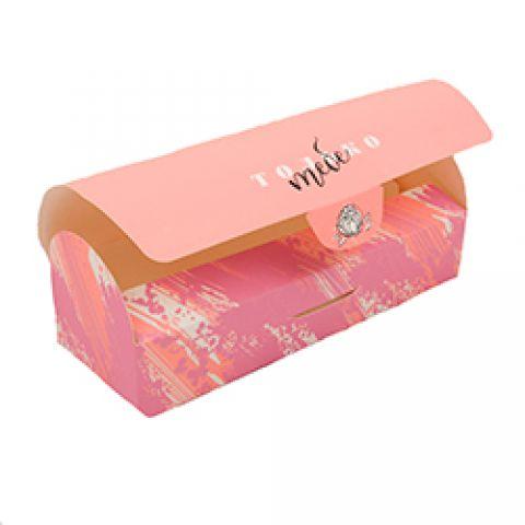 """Коробка """"Только для тебя""""9х9х24.5 см"""