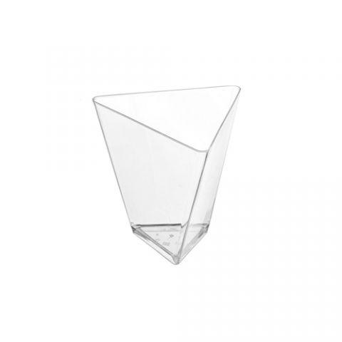 """Тара для свечи Чашка для свечи """"Треугольная"""" малая 45 мл. 4 шт."""
