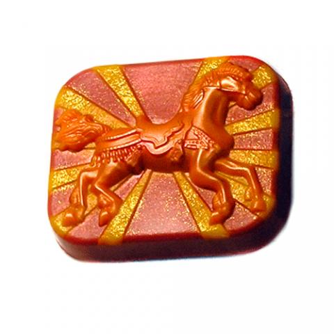 Форма пластиковая веселая лошадка