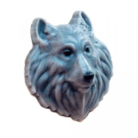 Форма пластиковая волк (голова)