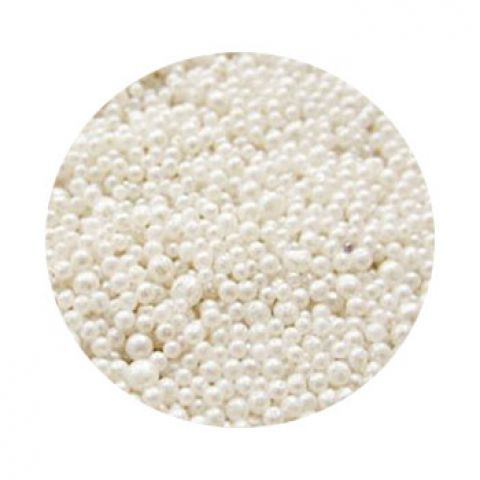 Жемчуг для ванн искристый белый (россия) 250 гр